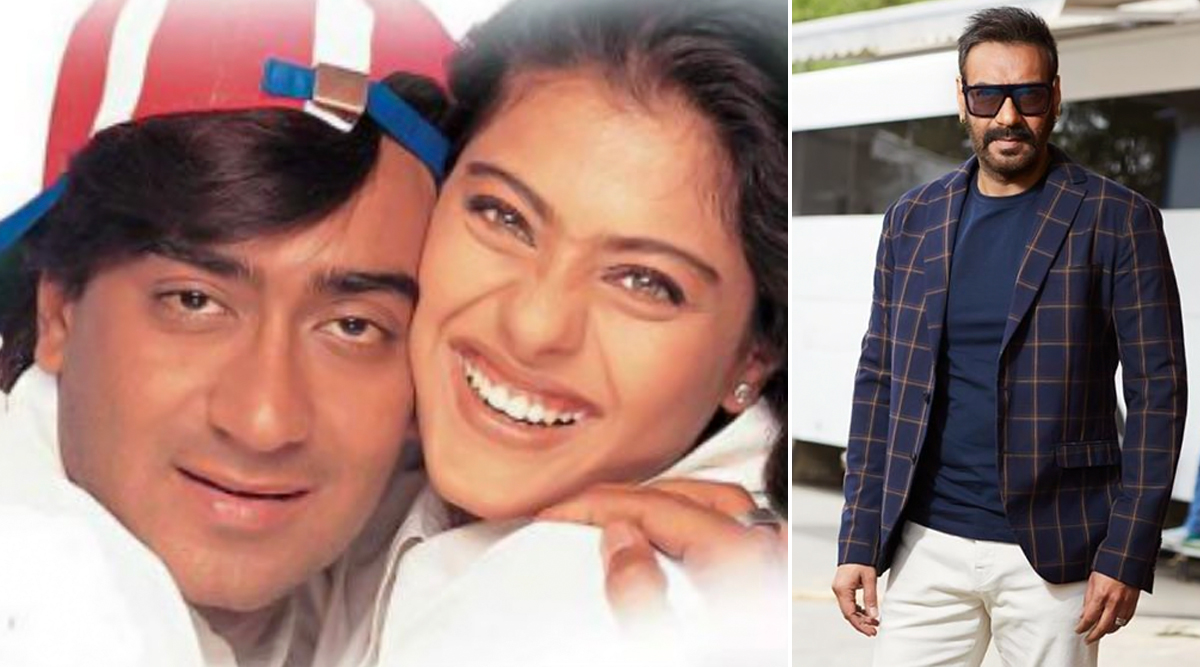 Ajay Devgn Shares an Adorable Post Dedicating 'Neend Churayi Meri' Song to Wifey Kajol as Their Film Ishq Completes 22 Years