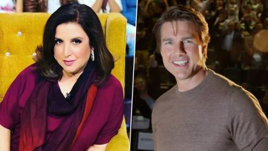 Farah Khan Wants to Choreograph Tom Cruise in a Dance Song and We Want This to Happen!