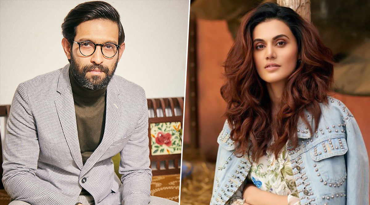 Taapsee Pannu and Vikrant Massey All Set to Team Up for a Romantic Thriller - Read Deets Inside