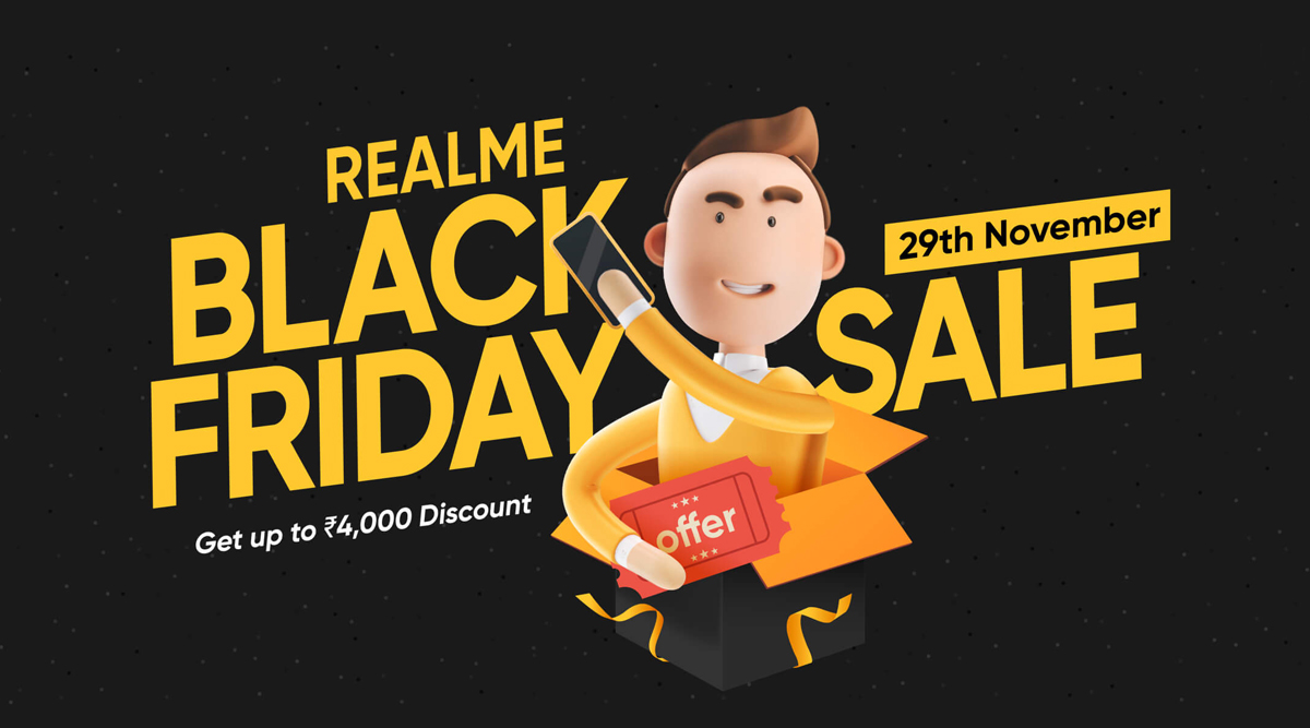 Realme Black Friday Sale 2019: Discounts Up To 4,000 on Realme X2 Pro, Realme 5s, Realme 5 Pro, Realme XT & Accessories