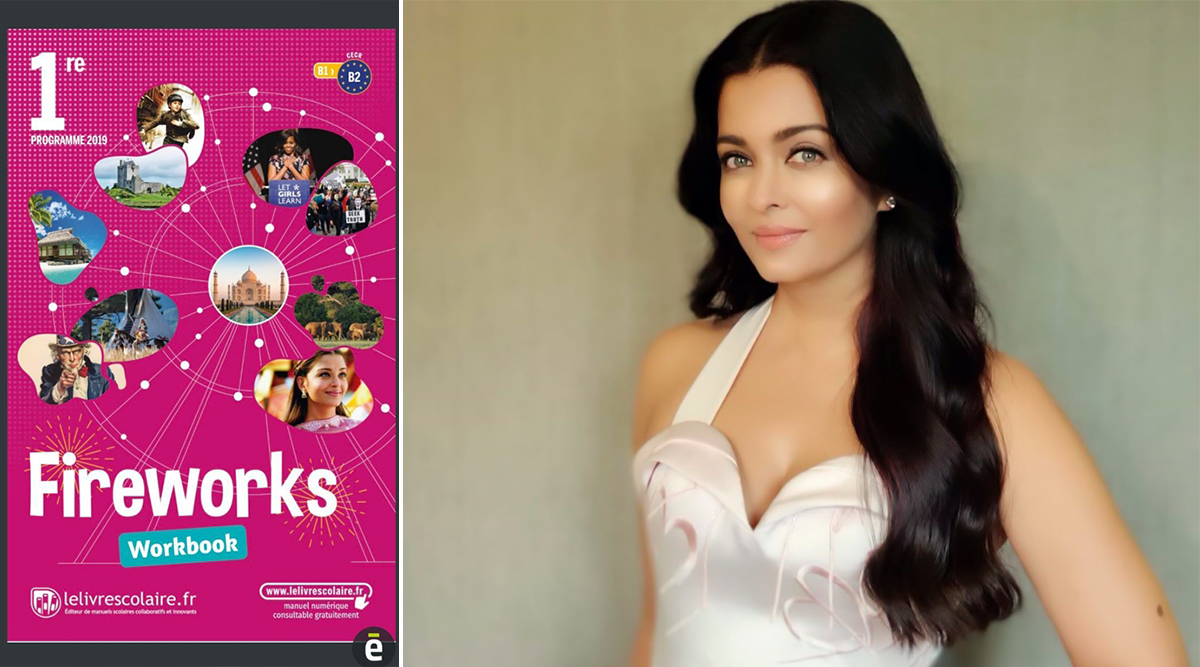 Aishwarya Rai Bachchan Features on French Workbook Cover for School Children