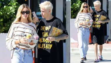 Justin Bieber and Hailey Baldwin Celebrate Thanksgiving in Miami (View Pics)