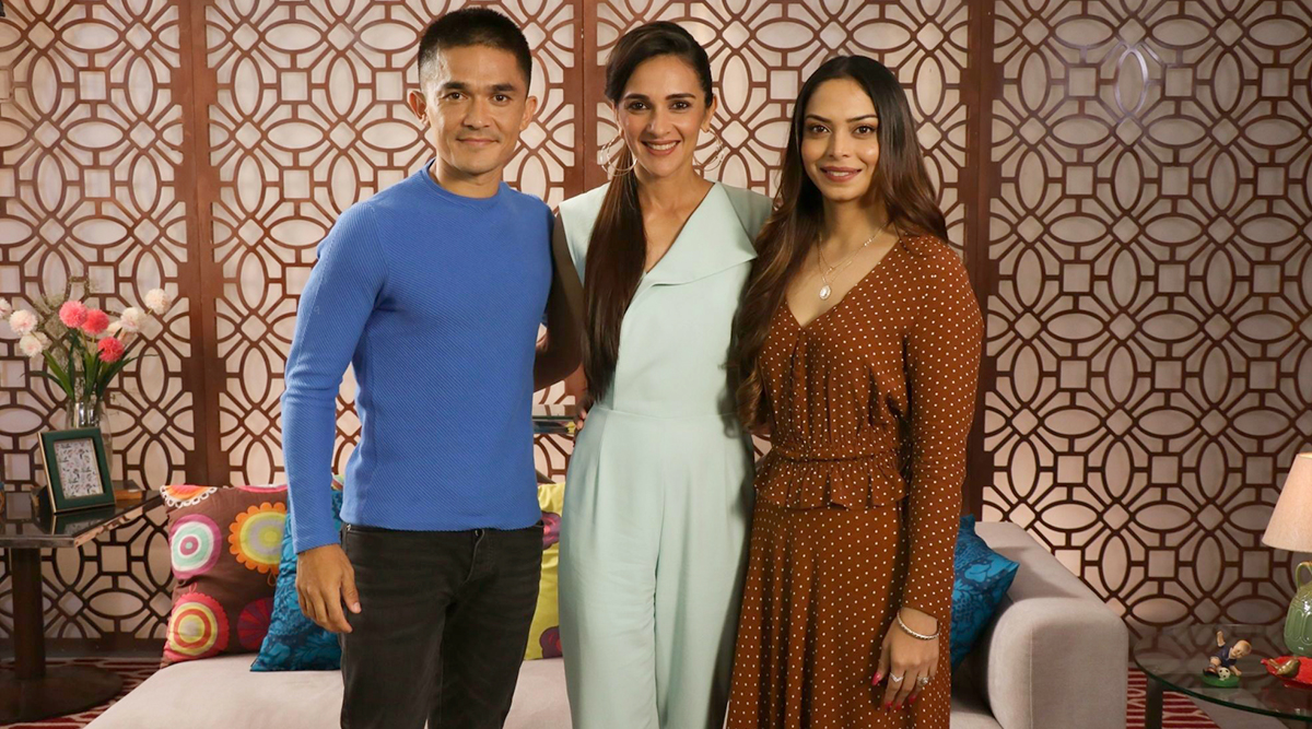 Tara Sharma Saluja Is Back with Her Celebrity TV Show and Her Guest List Includes Sunil Chhetri With Wife Sonam, Salman Khan and More