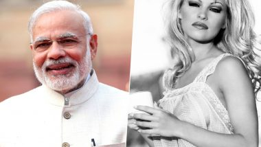 Pamela Anderson Writes a Letter to PM Modi Urging to Serve Only Vegan Food at Government Events