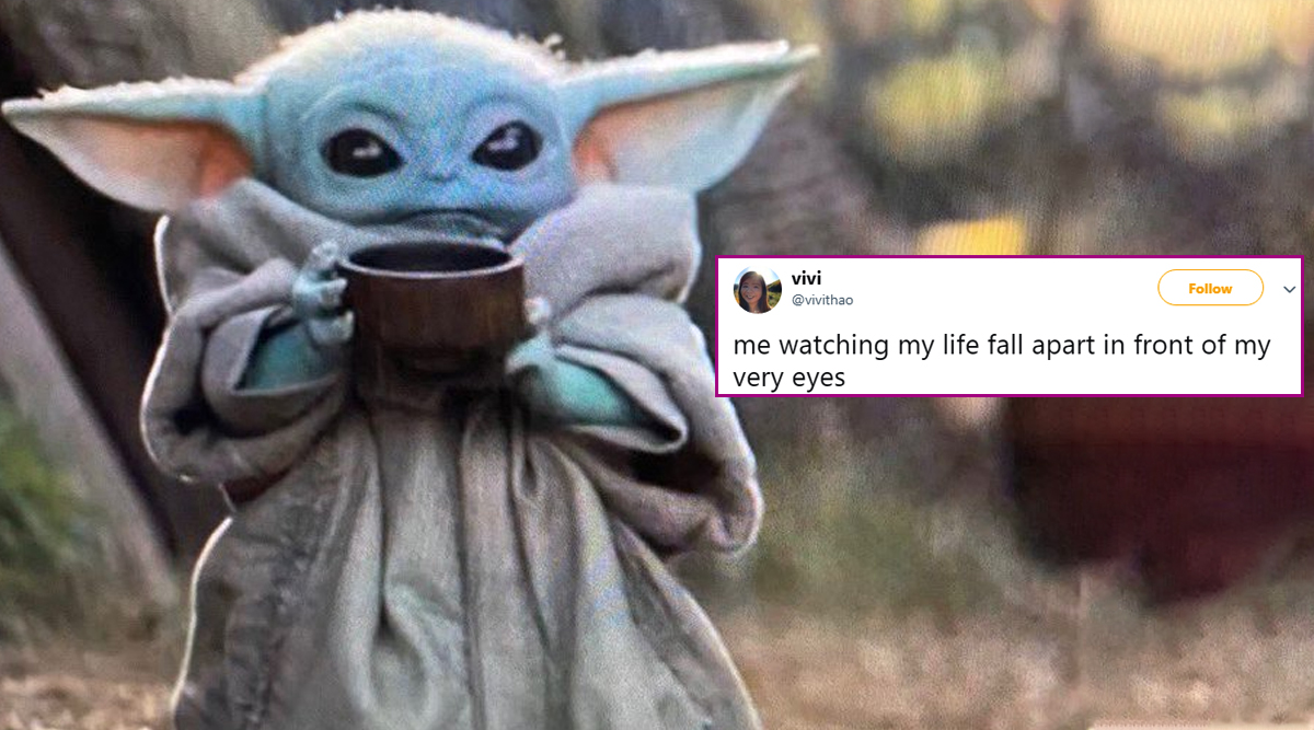 Funny Baby Yoda with His Soup Memes Are Going Viral and ...