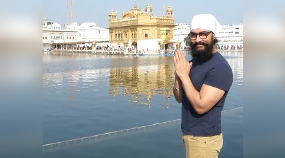 Aamir Khan Seeks Blessings at the Holy Golden Temple Taking Time From Laal Singh Chaddha Shoot (View Pics)