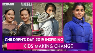 Children's Day 2019: 5 Inspiring Kids Who Are Making Change in the World for Better