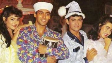Did You Know Aamir And Salman Khan Were Not On Talking Terms On The Sets Of Andaz Apna Apna?