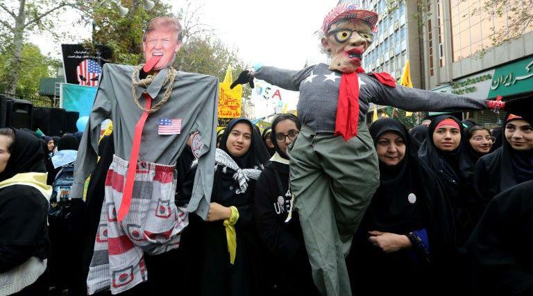 'Death to America': Iran Marks 40 Years of US Embassy Siege in Tehran by Raising Imam Khomeini's 1979 Revolution Slogan