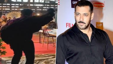 Salman Khan's Swag On The Sets Of Radhe Makes Eid 2020 Seem Farther Than It Already Is (Watch Video)