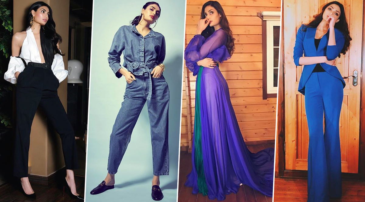 Athiya Shetty Birthday Special: The 'Motichoor Chaknachoor' Actress is a Fashionista Who is Ever Ready to Roll (View Pics)