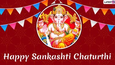 Sankashti Chaturthi 2019 Images And Wallpapers: Lord Ganesha Posters, HD Photos, WhatsApp Stickers And GIF Images For Free Download