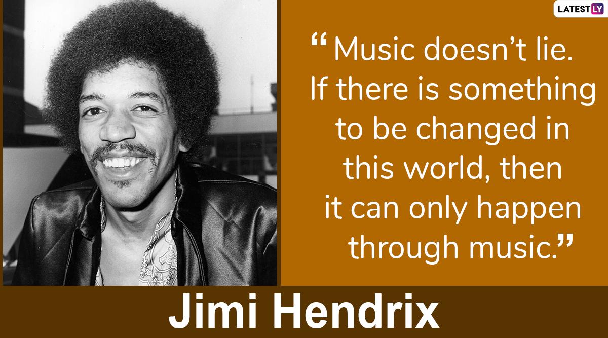 Jimi Hendrix quotes on life. (Photo Credits: File Image)