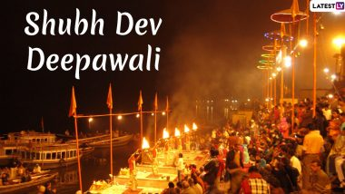 Dev Deepawali 2019 Images and HD Wallpapers for Free Download Online: Shubh Diwali Wishes and Messages to Send on Varanasi's Celebrated Festival