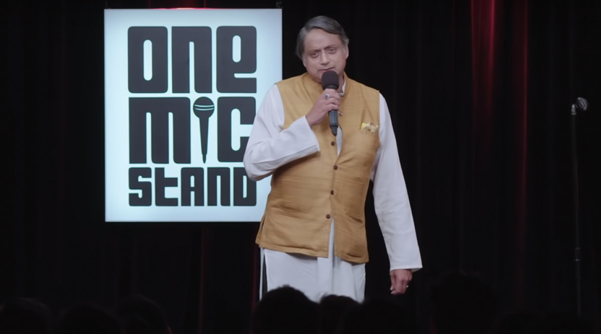 Shashi Tharoor Turns Standup Comedian and Teaches Us a New English Word 'Recalcitrance' in the Promo of Amazon Prime's One Mic Stand (Watch Video)