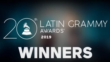 2019 Latin GRAMMY Awards: From Camila Cabello to J Balvin, Here's the List of Every Winner