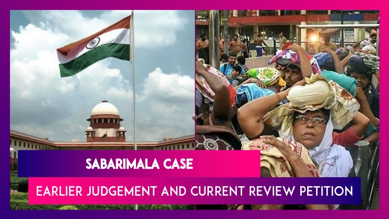 Sabarimala Review Petition SC Verdict: What Was Earlier Judgement And What Is The Review About