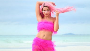 Nora Fatehi Looks Super Sexy in Pink Co-Ords and Hair, And Suddenly We Are Craving Cotton Candy