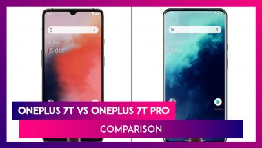 OnePlus 7T vs OnePlus 7T Pro - Comparison Features, Variants, Prices, Specifications