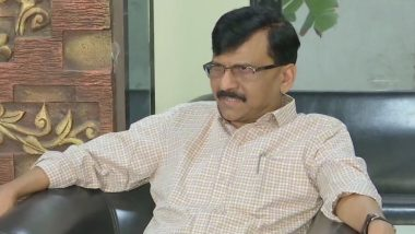 Sanjay Raut Reiterates That Maharashtra CM Will Be From Shiv Sena, Says He Wishes For a Sena CM For Next 25 Years