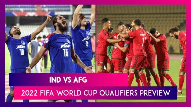 IND vs AFG, 2022 FIFA World Cup Qualifiers Preview: India Eye Crucial Win Over Afghanistan