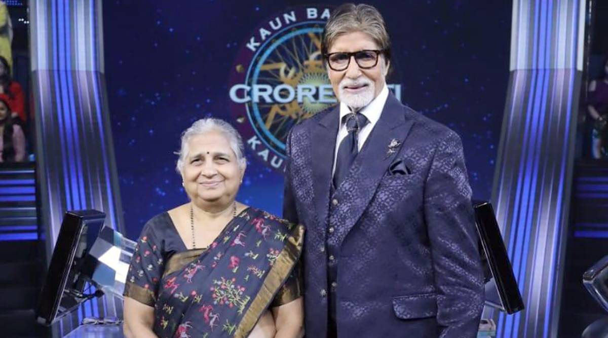 KBC 11: Amitabh Bachchan to Host Infosys Foundation Chairperson Sudha Murthy in the Show's Finale
