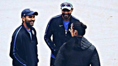 Rohit Sharma Post Throwback Picture with Ravindra Jadeja and Ishant Sharma: 'We Got Zlatan Amongst Us'