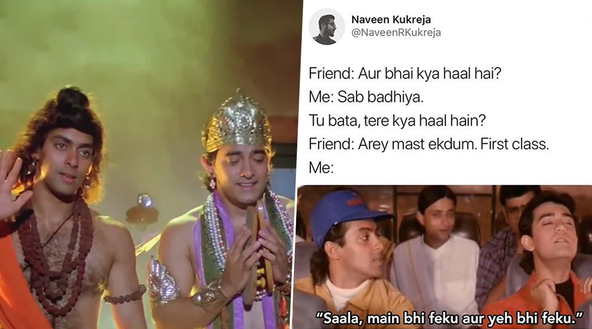 25 Years of Andaz Apna Apna! Funny Memes, Jokes and GIFs That Will Make the Classic Live in Our Hearts Forever