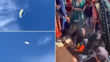 Groom Skydives to His Wedding and the Viral Video Sets the Bar 'High' for the Rest of the Dulhas!