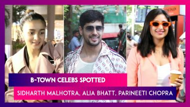 Sidharth Malhotra, Alia Bhatt, Parineeti Chopra and Other Celebs Spotted