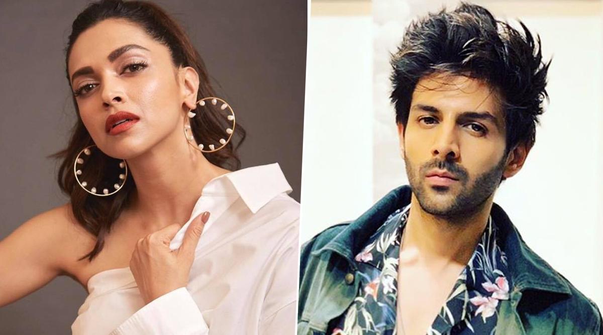 Deepika Padukone Asks Kartik Aaryan to Teach 'Dheeme Dheeme' Song Steps and He Agrees