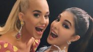 Jacqueline Fernandez Has the Cutest Fan Girl Moment as She Clicks a Selfie With Katy Perry Ahead of the One Plus Music Festival (View Picture)