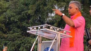 Dilip Ghosh Says 'Will Identify and Shoot' Protesters Damaging Public Property When BJP Comes to Power in West Bengal (Watch Video)