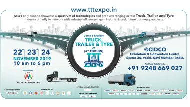 Asia's Only Truck Trailer and Tyre Expo to be Organized in Navi Mumbai