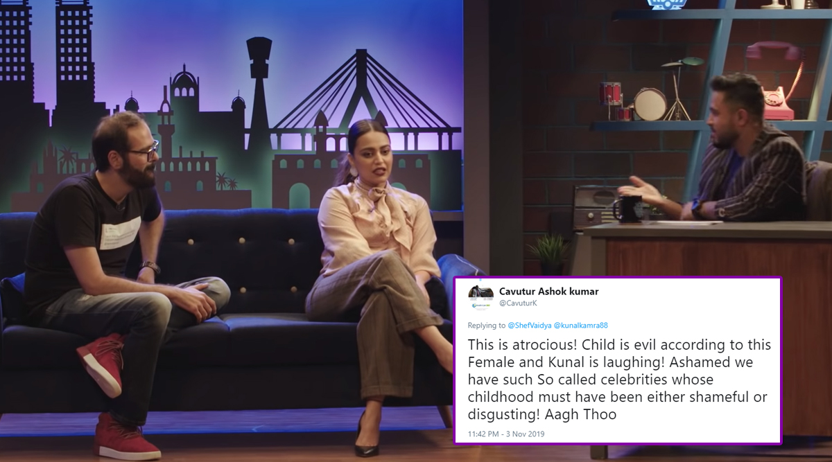 Swara Bhasker Gets Ruthlessly Trolled For Calling a 4-Year-Old Kid Ch***ya and 'Ka****a', Netizens Express Outrage Over Her 'Insensitive Behaviour' (Read Tweets)