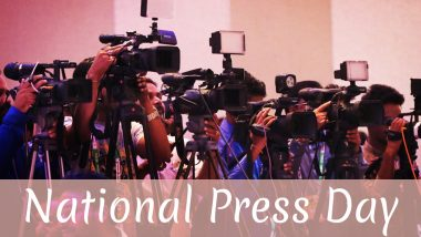 National Press Day 2019: Who Is The Chairman of Press Council of India & Other FAQs Related to The Day That Commemorates Freedom of Press in India