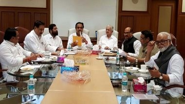 Maharashtra: Shiv Sena, NCP, Congress Hold First Joint Meeting, Common Minimum Programme Final Draft Sent to Sonia Gandhi, Sharad Pawar And Uddhav Thackeray For Approval