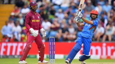Live Cricket Streaming of Afghanistan vs West Indies, 3rd ODI 2019 Match on Hotstar: Check Live Cricket Score, Watch Free Telecast of AFG vs WI on TV and Online