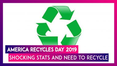 National Recycling Day 2019 US: Shocking Statistics On Plastic And Why We Need To Recycle