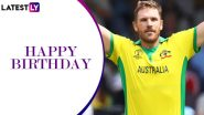 Happy Birthday Aaron Finch: A Look at Some Spectacular Knocks by the Explosive Australian Opener