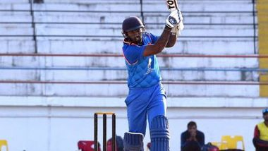 Abhay Negi Smashes Fastest Fifty in Syed Mushtaq Ali Trophy 2019–20; Meghalaya Cricketer Hits Six Sixes to Reach Half-Century in Just 14 Balls