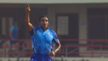 Abhimanyu Mithun Takes Five Wickets in One Over in Syed Mushtaq Ali Trophy 2019 Semi-Final Against Haryana