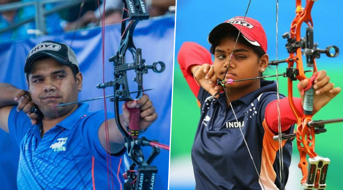 Abhishek Verma and Jyoti Surekha Vennam Win Gold Medal at Compound Mixed Team Event in Asian Archery Championships 2019 (Watch Video)