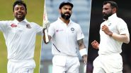 India vs Bangladesh, Day-Night Test 2019, Key Players: Virat Kohli, Mohammed Shami, Abu Jayed and Other Cricketers to Watch Out for at Eden Gardens, Kolkata