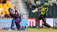 Abu Dhabi T10 League 2019 Live Streaming of Deccan Gladiators vs Qalandars on Sony Liv: How to Watch Free Live Telecast of DEG vs QAL on TV & Cricket Score Updates in India