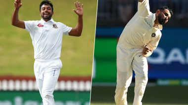 Abu Jayed Takes Tips From Mohammed Shami to Prepare for Historic India vs Bangladesh Day-Night Test 2019 in Kolkata