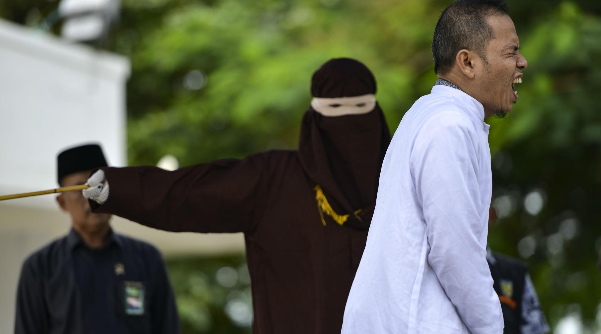 Indonesian Man Who Advocated Flogging for Adultery Gets Flogged For ADULTERY!