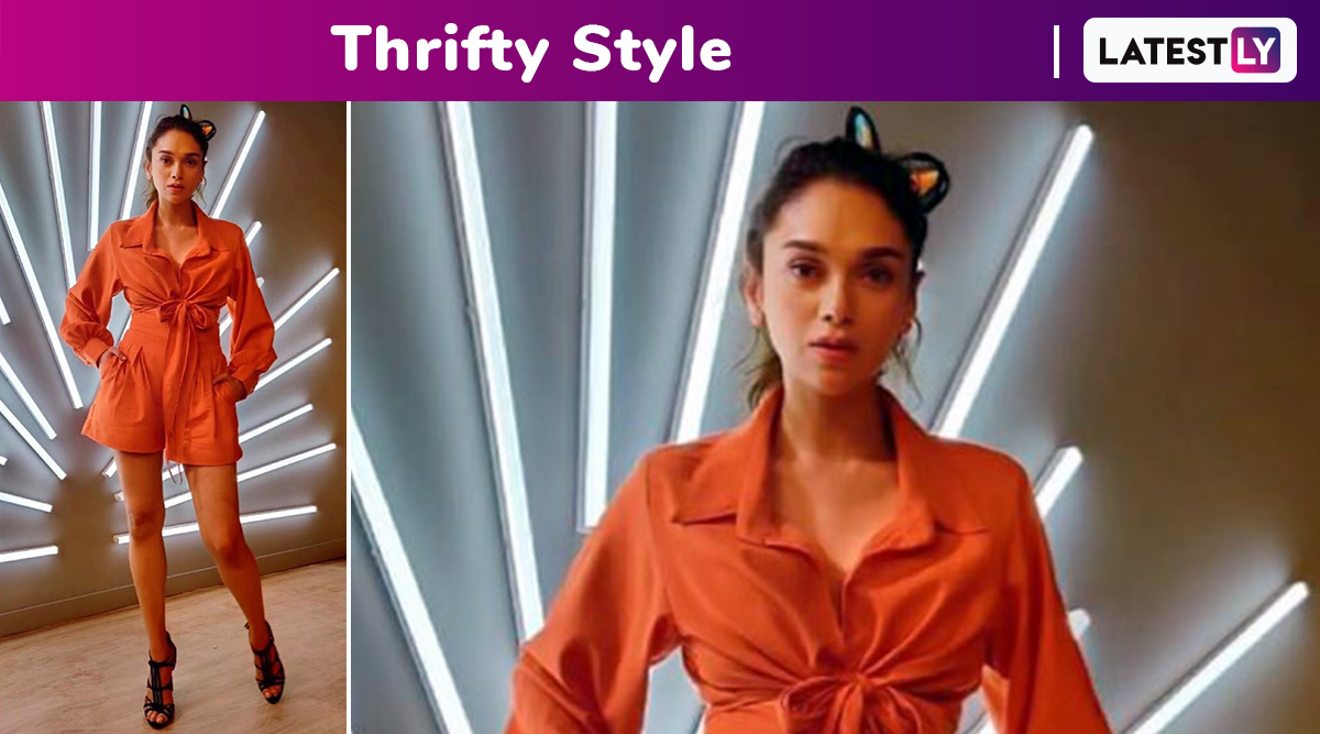 Thrifty Style: Aditi Rao Hydari in a Rs 3000 Cord Set Will Set You for a Beach Vacay!