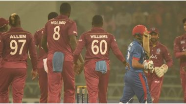 Live Cricket Streaming of Afghanistan vs West Indies, 3rd T20I 2019 Match on Hotstar: Check Live Cricket Score, Watch Free Telecast of AFG vs WI on TV and Online