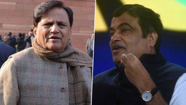 Ahmed Patel Meets Nitin Gadkari Amid BJP-Shiv Sena Deadlock in Maharashtra